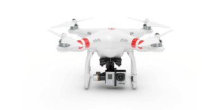 GoPro action-camera on drones