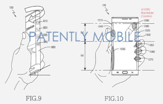 Samsung patented new sensor panel for phablets