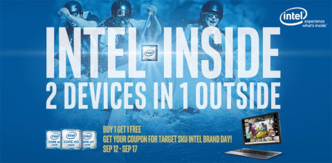 Intel inside – 2 devices in 1 outside